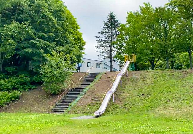 三里塚公園すべり台
