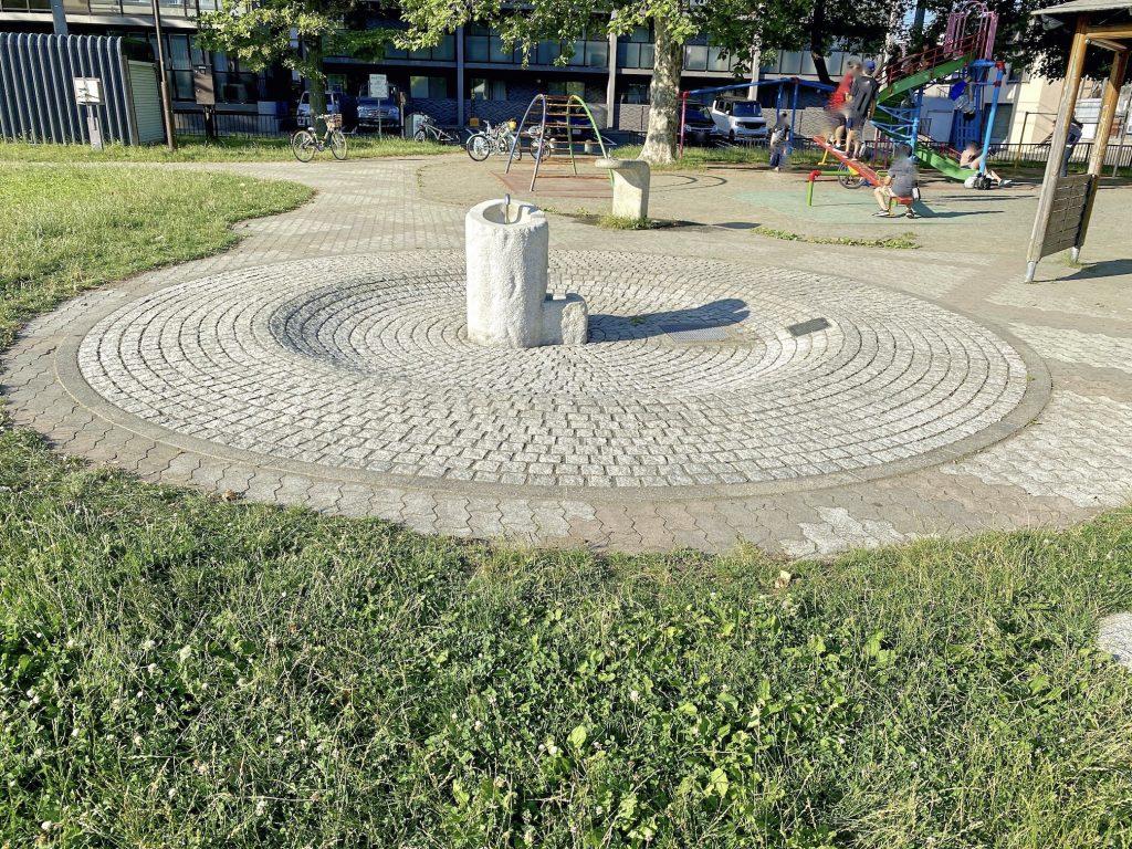 白石ふじ公園水遊び