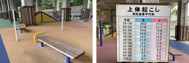 北6条エルムの里公園健康遊具