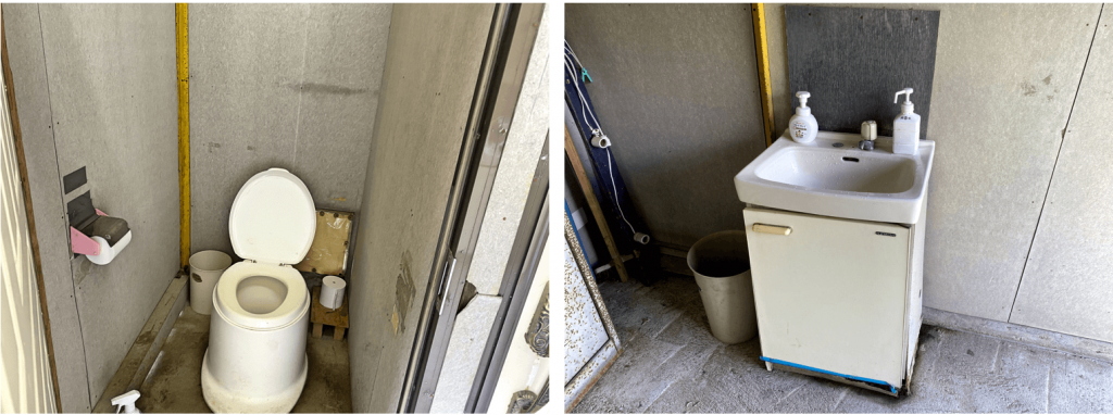 八剣山果樹園トイレ