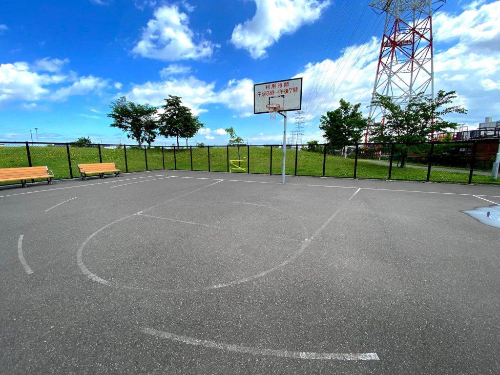 西宮の沢公園バスケ