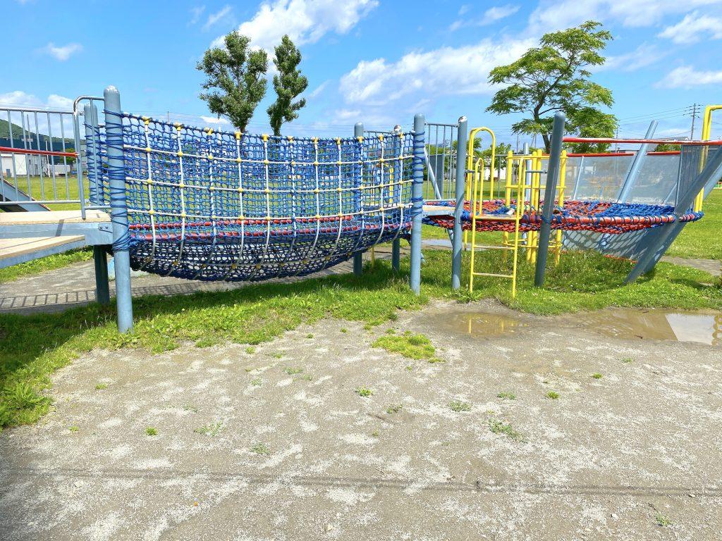 西宮の沢公園コンビネーション遊具