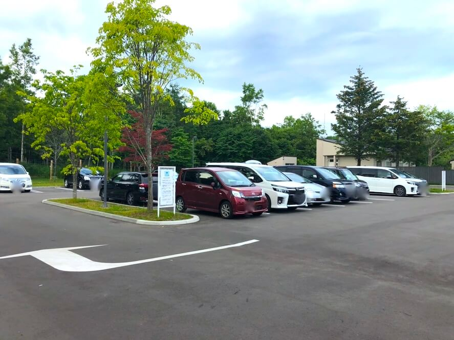 ナチュの森 駐車場
