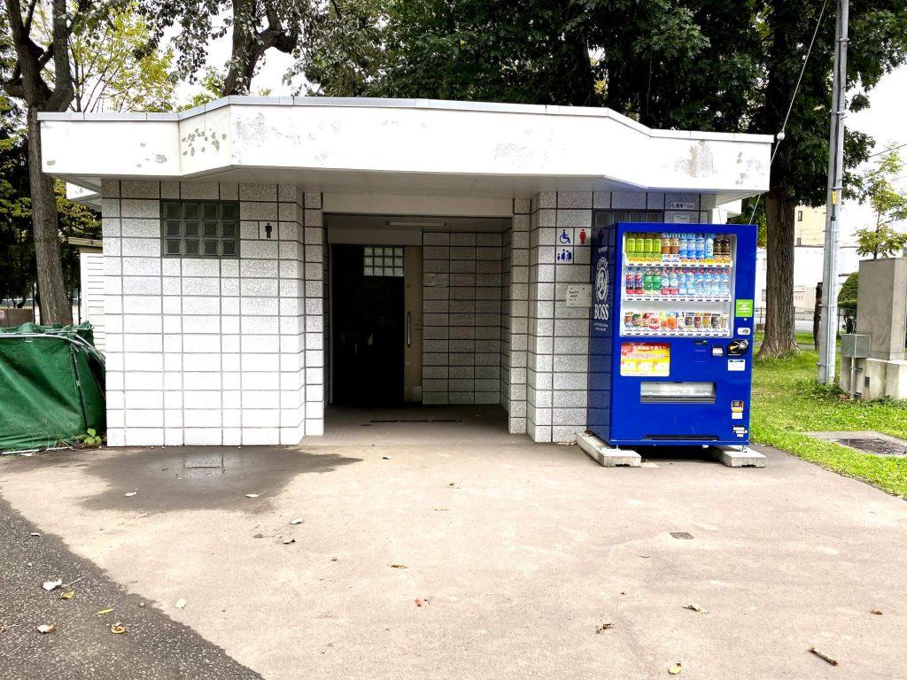 美香保公園ペットコーナー付近トイレ