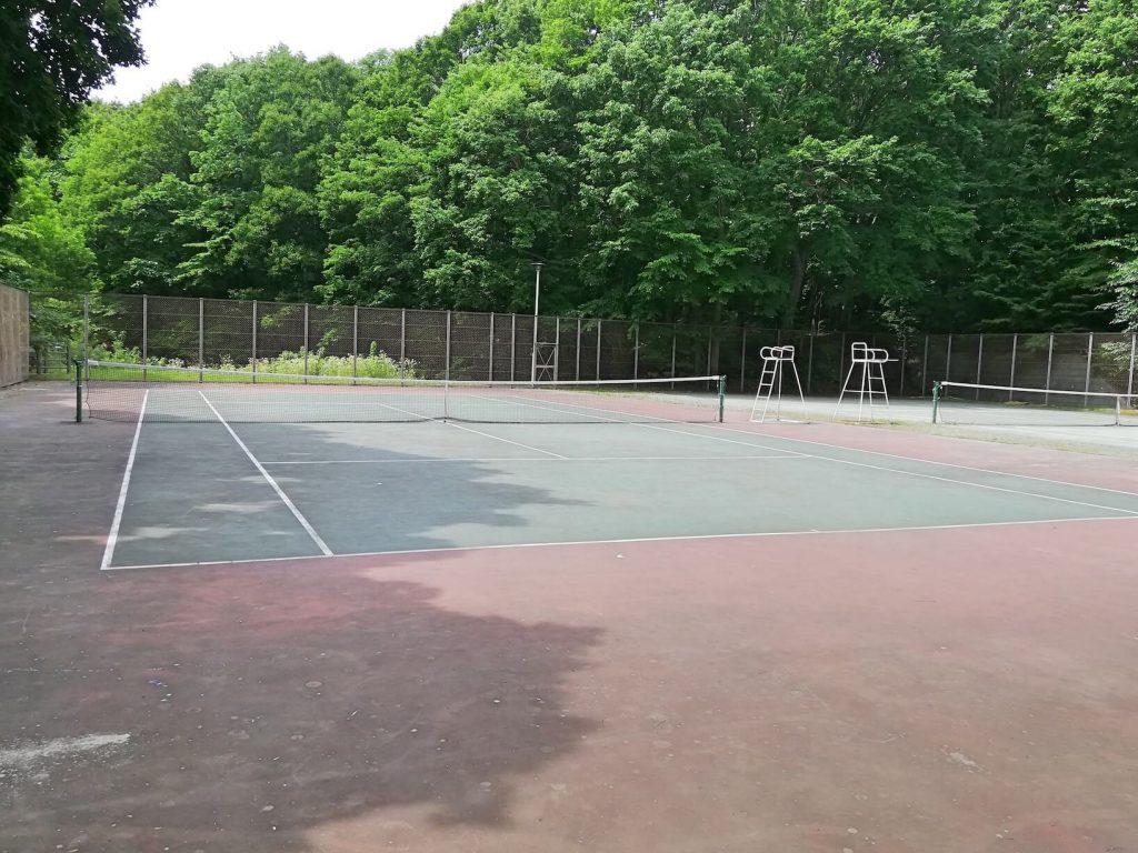 青葉中央公園 テニスコート