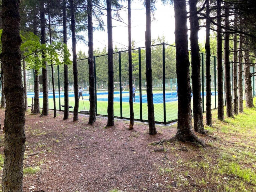 稲積公園 テニスコート