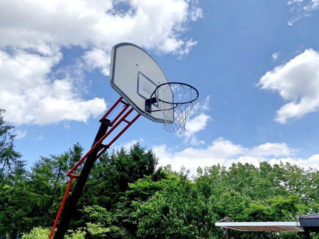 稲積公園 バスケットゴール