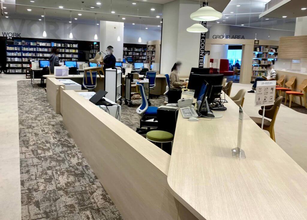 札幌図書情報館 リサーチカウンター
