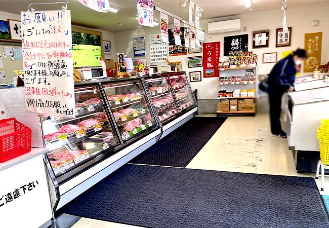 肉のサンビーム店内