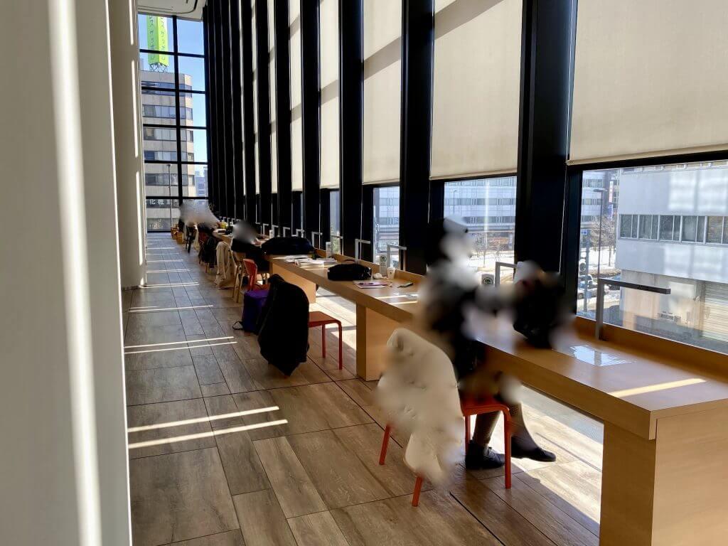 札幌図書情報館 フリースペース