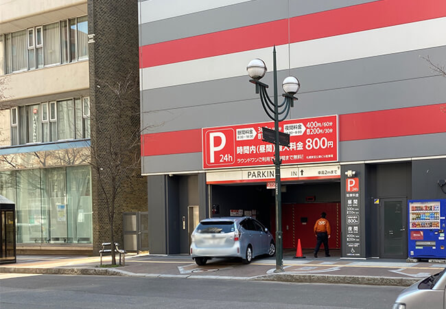 札幌東宝公楽ビル駐車場
