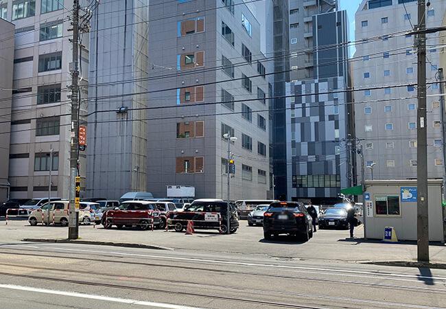 北海道建物南1西5パーキング