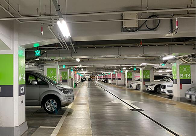大通地下駐車場