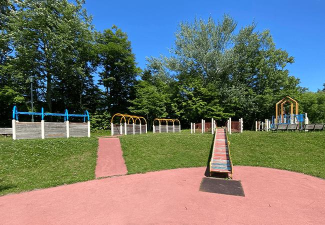 北野ふれあい公園遊具