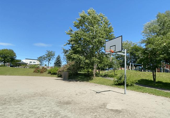北野ふれあい公園バスケットゴール