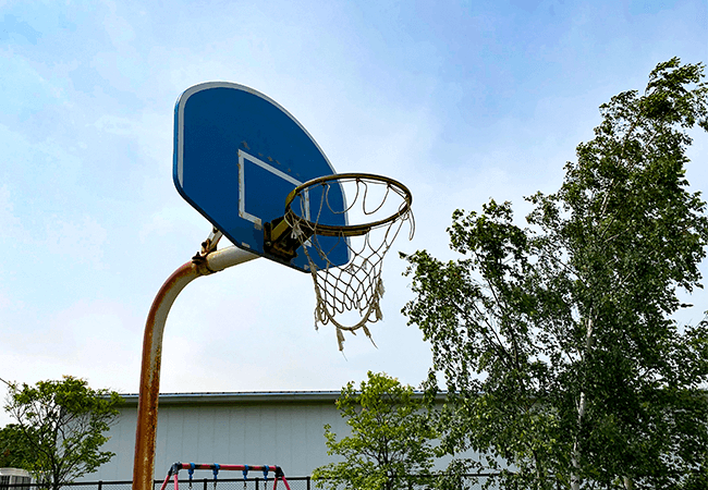 屯田あおば公園バスケット
