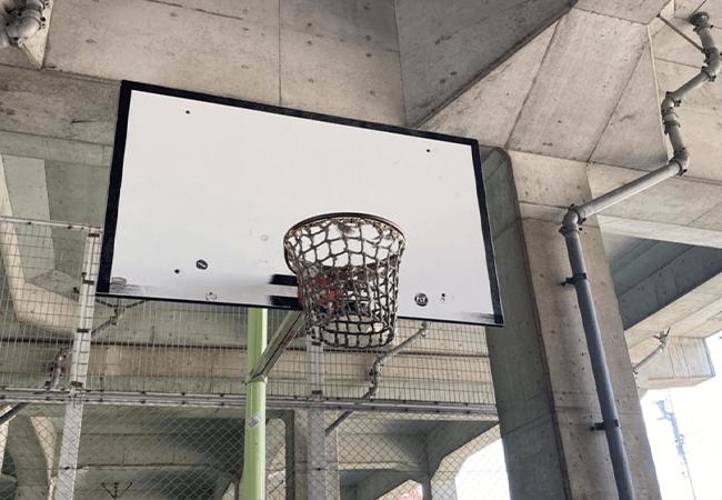 北6条エルムの里公園バスケットゴール