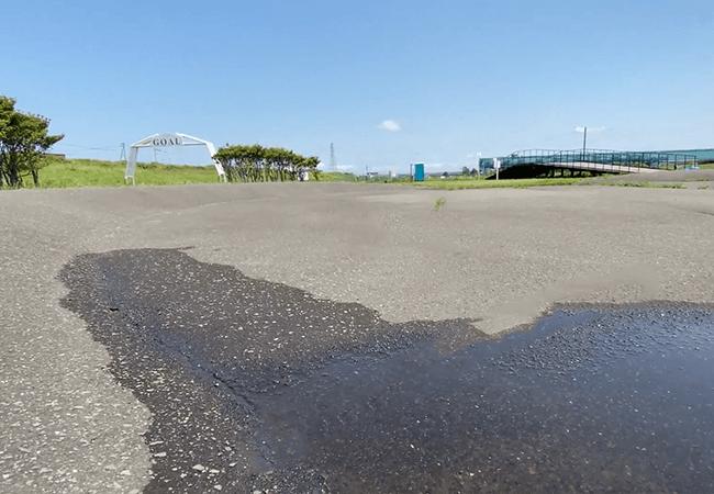 豊平川緑地サイクルサーキットコース