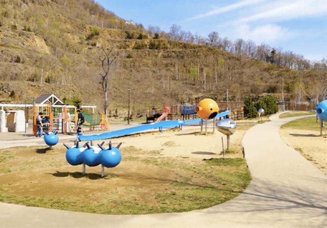 五天山公園 遊具