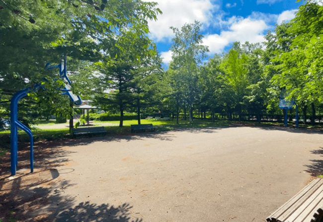 北野中央公園バスケットコート