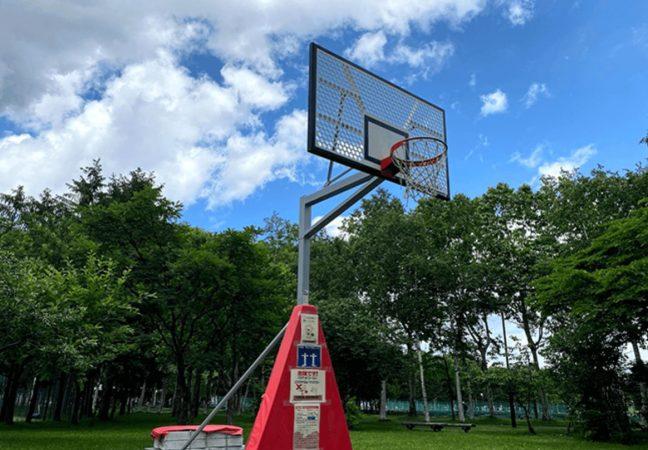 手稲稲積公園バスケットゴール