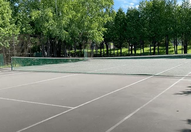 北野中央公園テニスコート