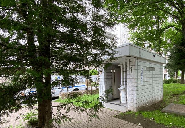 南円山さくら公園トイレ