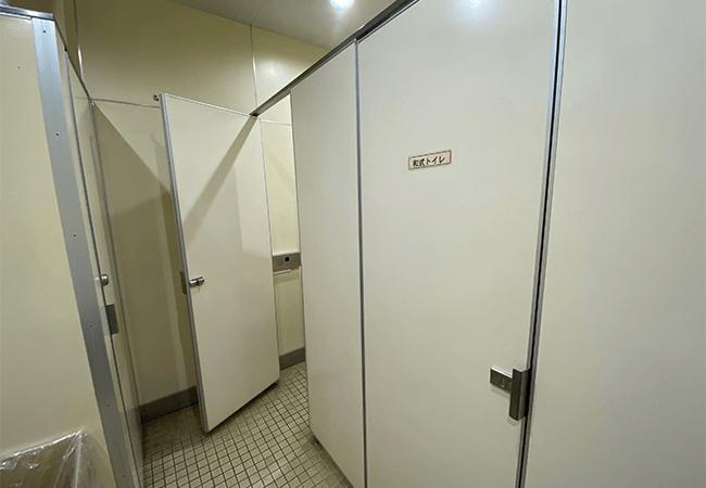 国営滝野すずらん丘陵公園渓流ゾーンロッジゆきざさトイレ