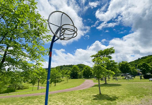 穴の川中央緑地バスケットゴール