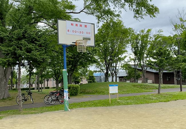 北郷公園バスケットゴール
