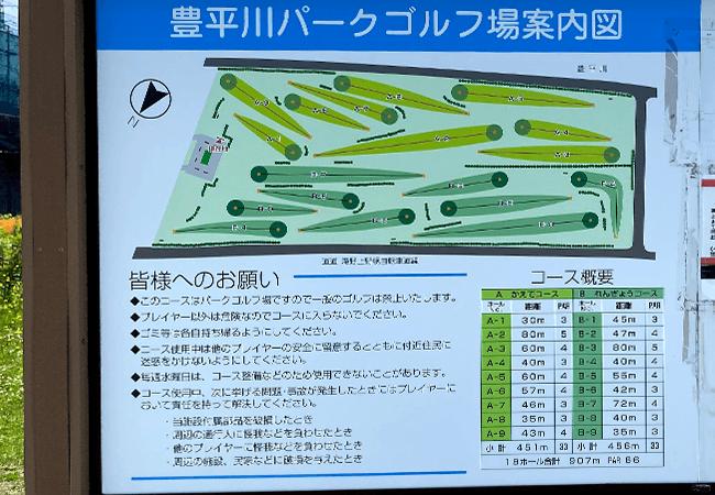 豊平川緑地パークゴルフ
