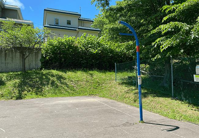 藤野ののさわ公園バスケットゴール