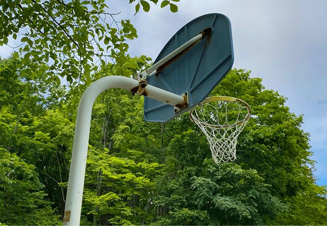三里塚公園バスケットゴール