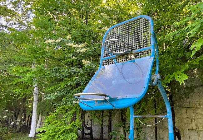 北野中央公園バスケットゴール