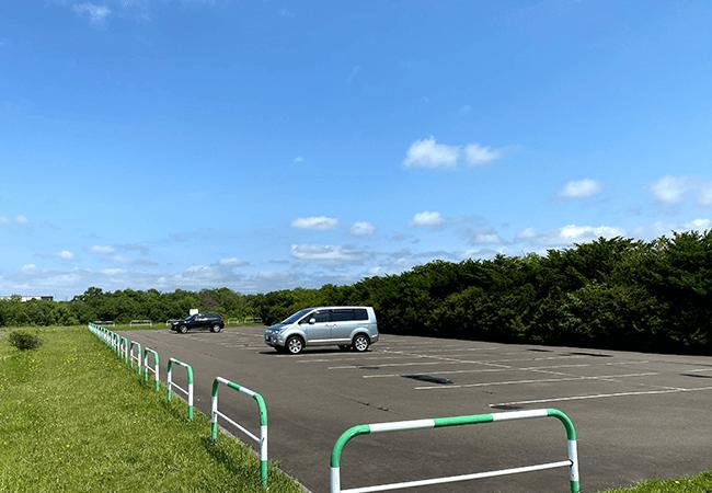豊平川緑地駐車場