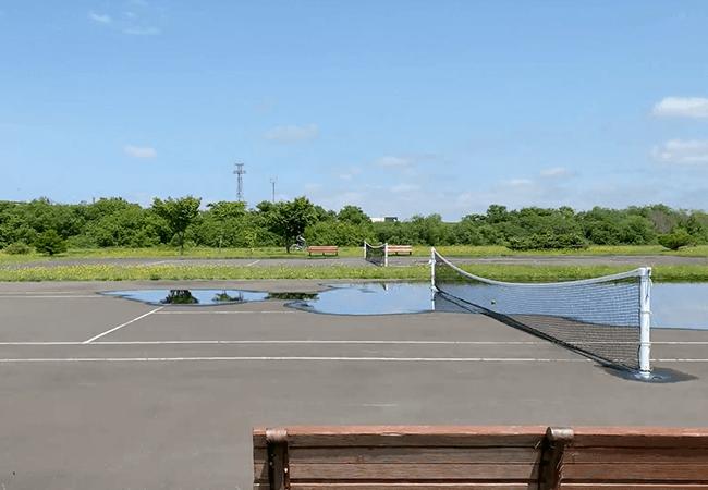 豊平川緑地テニスコート