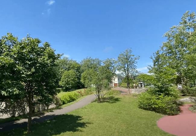 北野ふれあい公園園路