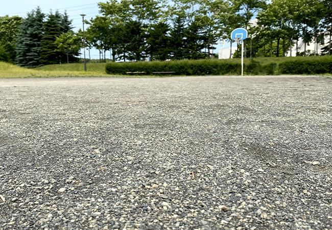 屯田あおば公園バスケットゴール