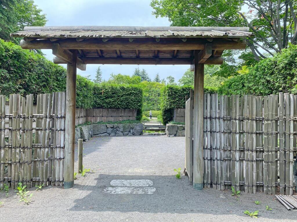 百合が原公園世界の庭園日本