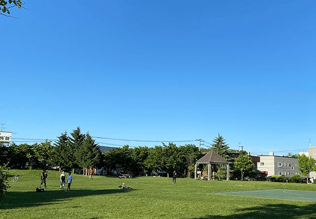 澄川北緑地多目的広場
