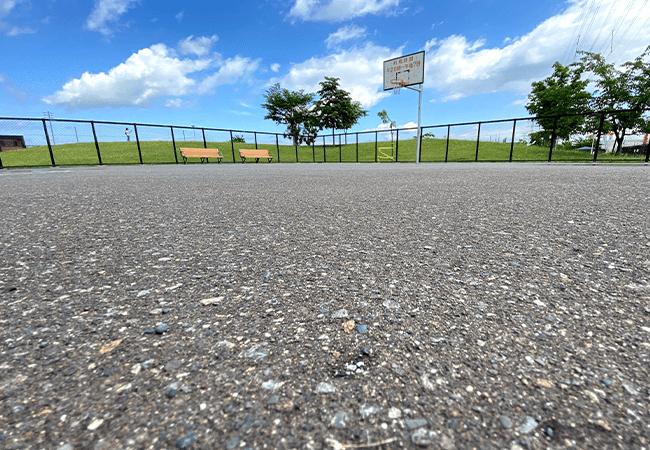 西宮の沢公園バスケットゴール