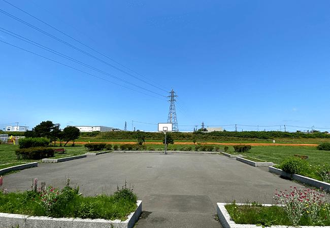 豊平川緑地バスケットコート