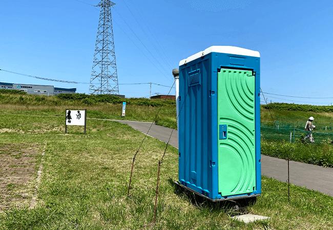 豊平川緑地トイレ