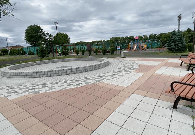 北郷公園水遊び
