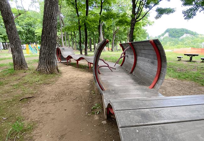 川沿公園遊具