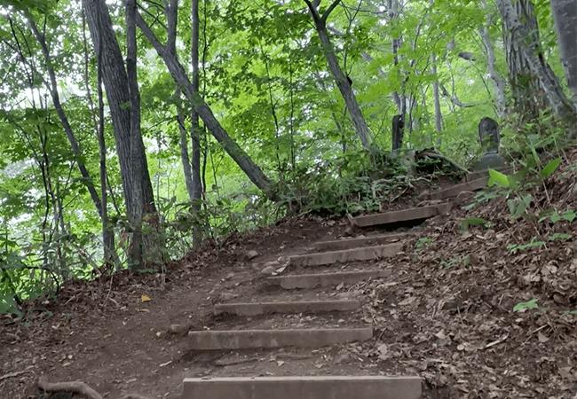 円山登山八十八カ所登山道