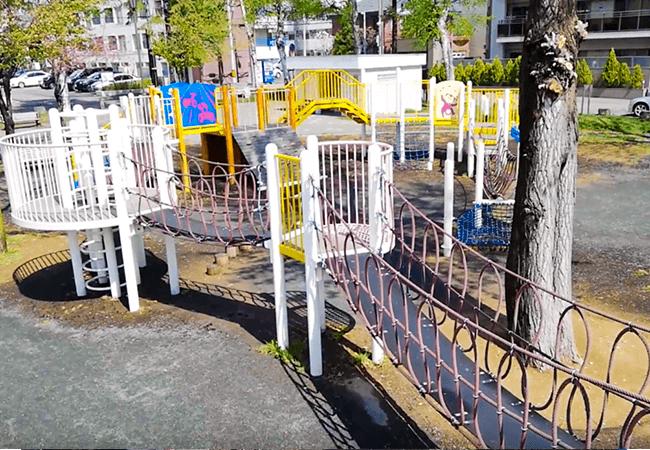 南郷丘公園コンビネーション遊具