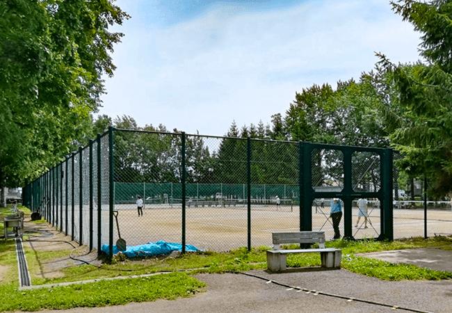 美香保公園テニスコート