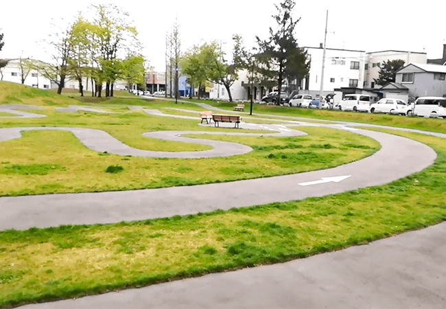 もつき公園サイクルコース