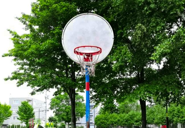 澄川北緑地バスケットゴール